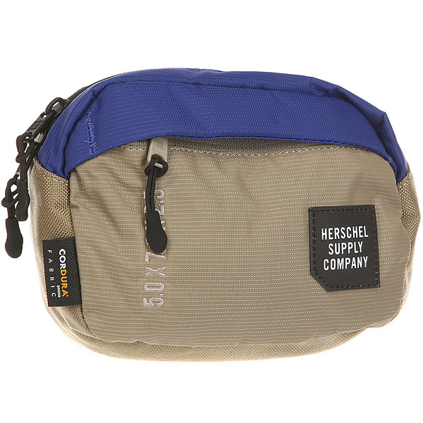 Сумка поясная Herschel Tour Small Black/Brindle/Surf The Web