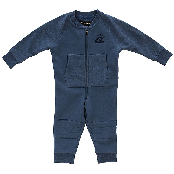 Комбинезон детский Quiksilver Saakoubodybab Navy<br><br>Цвет: Темно-синий<br>Тип: Комбинезон<br>Возраст: Детский