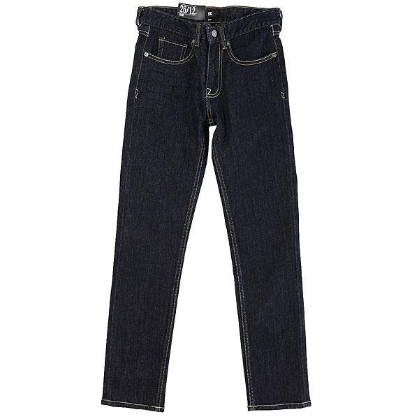 Джинсы узкие детский DC Worker Slim Dark Navy шорты классические dc worker slim wheat