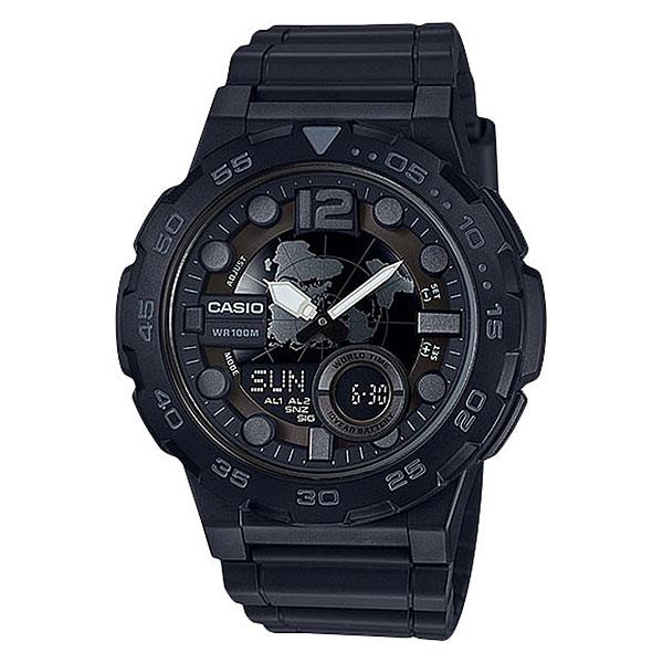 Кварцевые часы Casio G-Shock Collection Aeq-100w-1bФункциональные наручные часы с неоновым дисплеем и аккумулятором, который прослужит до 10 лет.Технические характеристики: Неоновый дисплей.Записная книжка (30 сохраненных имен и телефонных номеров).Функция мирового времени.Функция секундомера- 1/100 сек. - 24 часа.Таймер - 1/1 мин. - 24 часа.3 ежедневных будильника.Функция повтора будильника.Автоматический календарь.12/24-часовое отображение времени.Корпус из полимерного пластика.Ремешок из полимерного материала.Продолжительное время работы аккумулятора - 10 лет.<br><br>Цвет: черный<br>Тип: Кварцевые часы<br>Возраст: Взрослый<br>Пол: Мужской