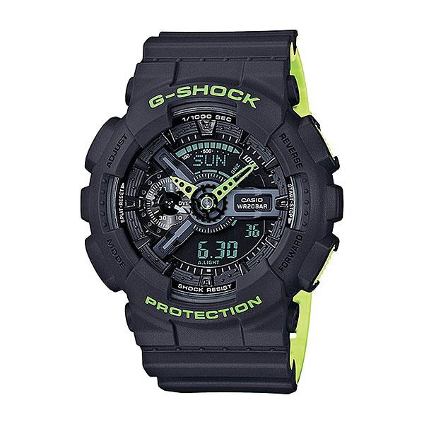 Кварцевые часы Casio G-Shock 67984 Ga-110ln-2aНаручные часы для спорта и активного отдыха в ударопрочном корпусе с защитой от воздействия магнитных полей, а высокий уровень водонепроницаемости делает эту модель идеальной для ныряния без акваланга.Технические характеристики: Автоматическая светодиодная подсветка.Ударопрочная конструкция защищает от ударов и вибрации.Устойчивость к воздействию магнитного поля.Функция мирового времени.Функция секундомера - 1/1000 сек. - 100 часов.Таймер - 1/1 мин. - 24 часа (с автоматическим повтором).5 ежедневных будильников.Функция повтора будильника.Отображение скорости.Автоматический календарь.12/24-часовое отображение времени.Минеральное стекло.Корпус из полимерного пластика.Ремешок из полимерного материала.Срок службы аккумулятора - 2 года.<br><br>Цвет: черный<br>Тип: Кварцевые часы<br>Возраст: Взрослый<br>Пол: Мужской