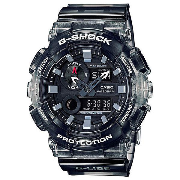 Кварцевые часы Casio G-Shock 68046 Gax-100msb-1aМультифункциональные часы для спорта, активного отдыха и путешествий.Технические характеристики: Автоматическая светодиодная подсветка.Измерение температуры - от -10°С до + 60°С, шаг измерений 0,1°С.Фаза Луны.Отображение приливов-отливов.Мировое время - 29 часовых зон.Секундомер - 1/1000 сек, запас измерения 100 часов.Таймер обратного отсчета - 24 часа - шаг измерения 1/1 сек.Будильник - до 5 независимых ежедневных сигналов.Функция повтора сигнала будильника (SNOOZE).Ежечасный сигнал.Включение/выключение звука кнопок.Полностью автоматический календарь.12- и 24-часовой формат времени.Минеральное стекло.Корпус и ремешок из полимерного материала.Ударопрочная конструкция защищает от ударов и вибрации.Магнитоустойчивые.Срок службы батареи – 2 года.<br><br>Цвет: черный<br>Тип: Кварцевые часы<br>Возраст: Взрослый<br>Пол: Мужской