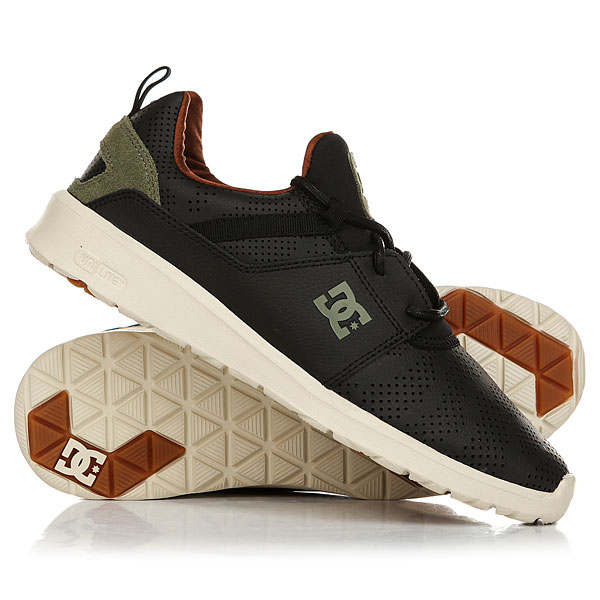 Кеды кроссовки низкие DC Shoes Heathrow Black/Camo Print dc shoes кеды dc heathrow 8