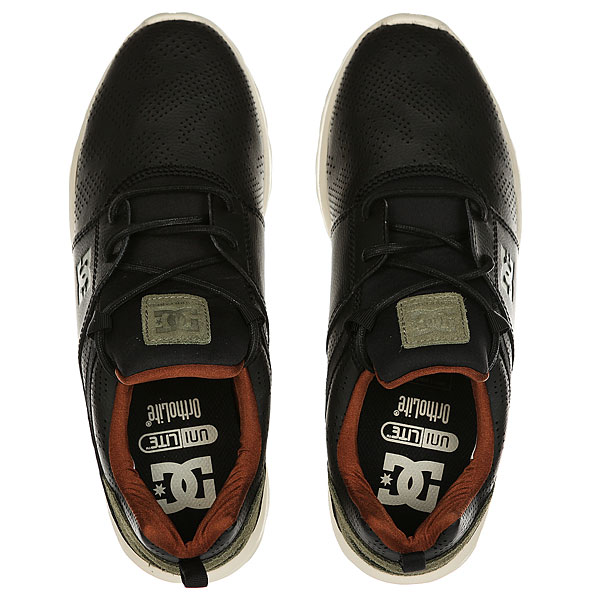 Кеды кроссовки низкие DC Shoes Heathrow Black/Camo Print