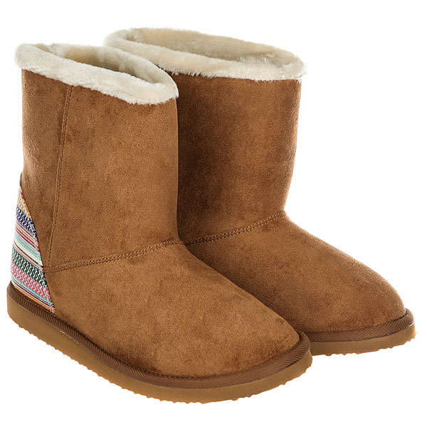 Угги женские Roxy Molly Boot Tan/Brown