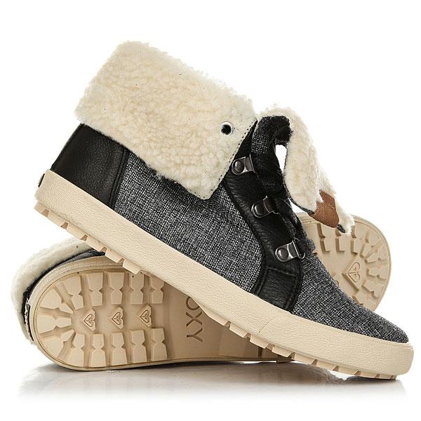 Кеды кроссовки утепленные женские Roxy Albany Boot Charcoal ботинки roxy timber j boot brn