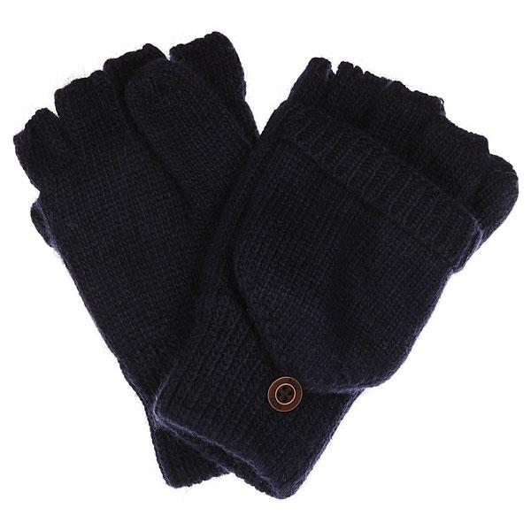 Варежки женские Roxy Knit Mittens PeacoatВязаные варежки Roxy Knit Mittens из про-коллекции Torah Bright.Характеристики:Сочетание нейлона и ангоры. Флисовая внутренняя подкладка Enjoy &amp; Care. Эластичные манжеты на резинках. Легко превращаются в митенки с помощью накладки.<br><br>Цвет: Темно-синий<br>Тип: Варежки<br>Возраст: Взрослый<br>Пол: Женский