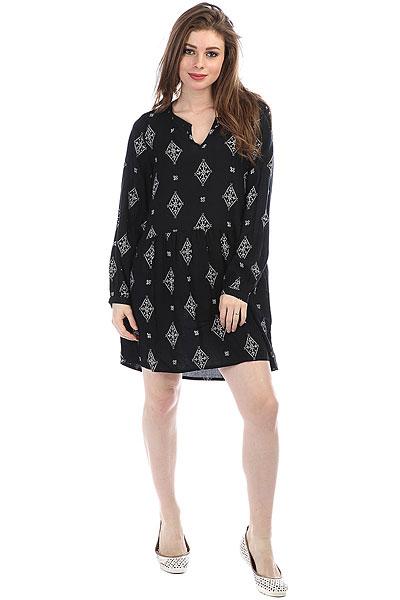 Платье женское Roxy Sunkissed Daze Anthracite Tribal<br><br>Цвет: черный<br>Тип: Платье<br>Возраст: Взрослый<br>Пол: Женский