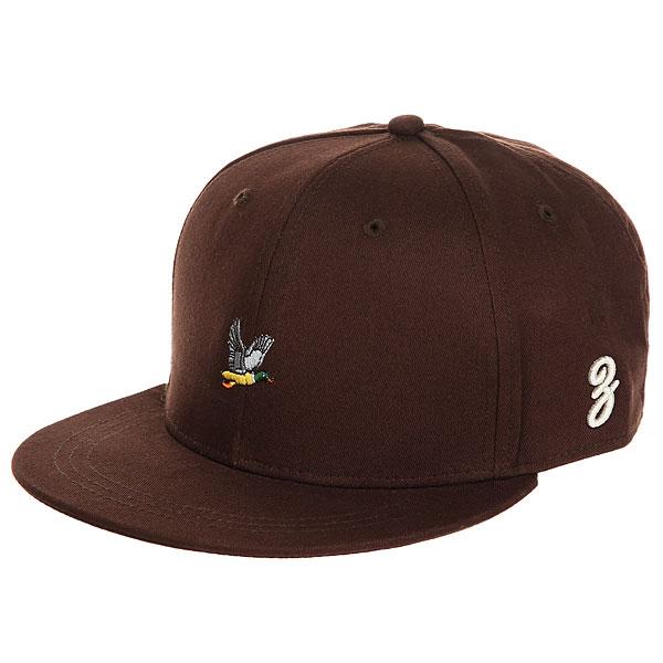 Бейсболка с прямым козырьком Запорожец Ditch Brown<br><br>Цвет: коричневый<br>Тип: Бейсболка с прямым козырьком<br>Возраст: Взрослый
