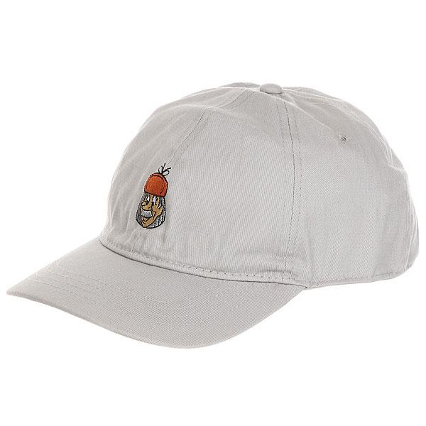Бейсболка классическая Запорожец Pechkin Grey<br><br>Цвет: серый<br>Тип: Бейсболка классическая<br>Возраст: Взрослый