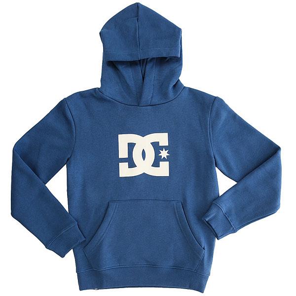 Толстовка кенгуру детская DC Star Washed Indigo<br><br>Цвет: синий<br>Тип: Толстовка кенгуру<br>Возраст: Детский