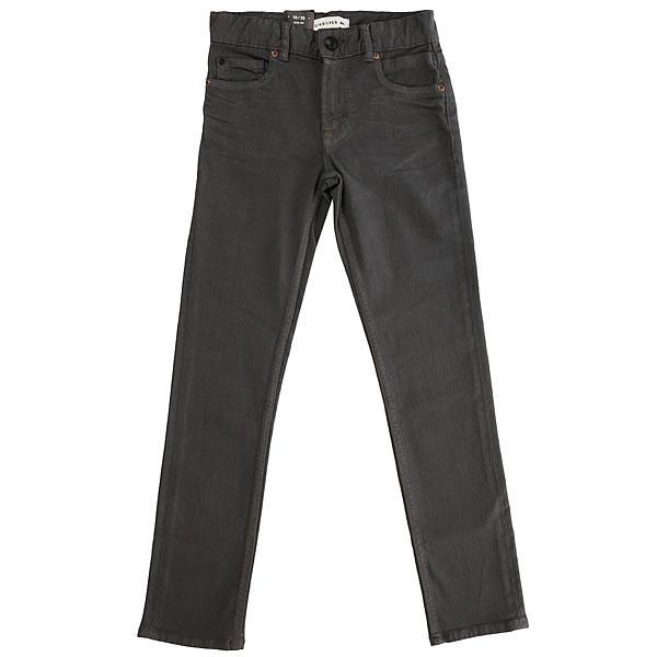 Джинсы узкие детские Quiksilver Distorscolorsyt Pant Iron Gate<br><br>Цвет: серый<br>Тип: Джинсы узкие<br>Возраст: Детский