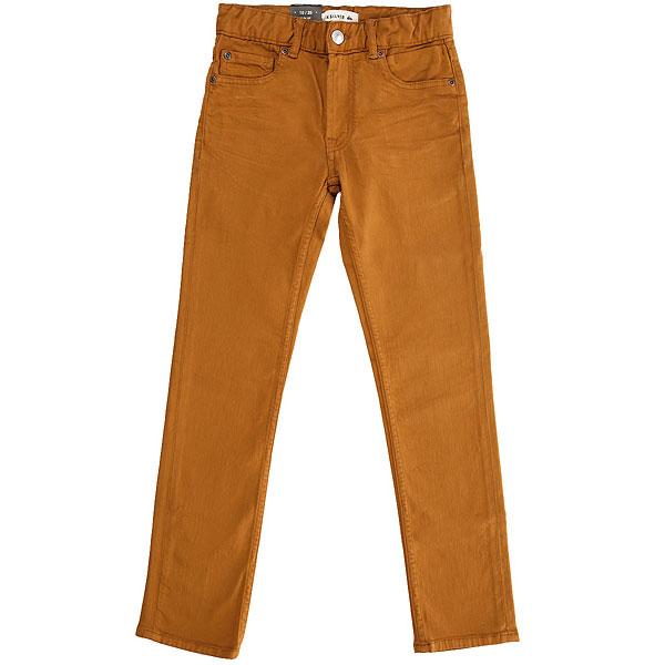 Джинсы узкие детские Quiksilver Distorscolorsyt Pant Bone Brown<br><br>Цвет: коричневый<br>Тип: Джинсы узкие<br>Возраст: Детский