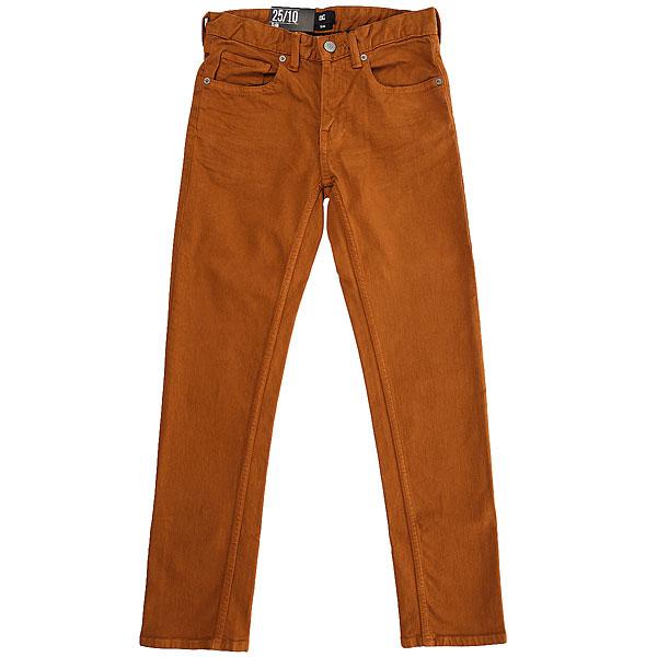 Штаны узкие детские DC Sumner Slim Pant Wheat<br><br>Цвет: коричневый<br>Тип: Штаны узкие<br>Возраст: Детский