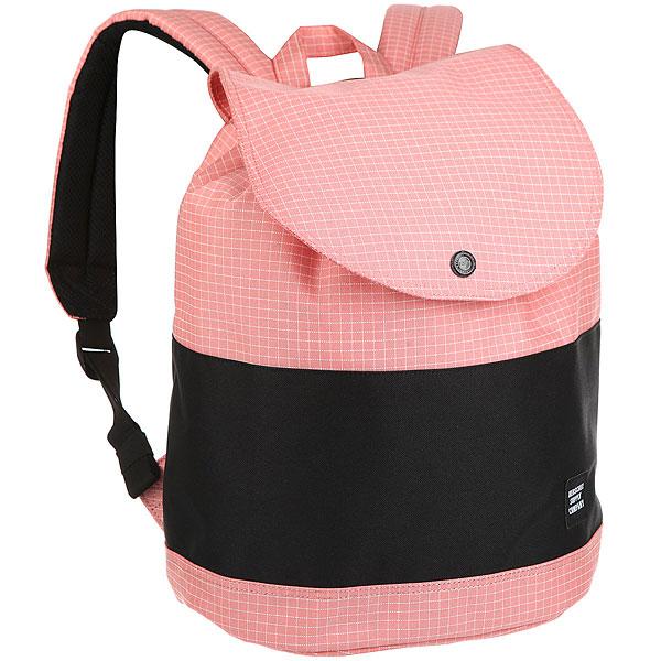Рюкзак Herschel Reid Strawberry Grid<br><br>Цвет: розовый<br>Тип: Рюкзак<br>Возраст: Взрослый