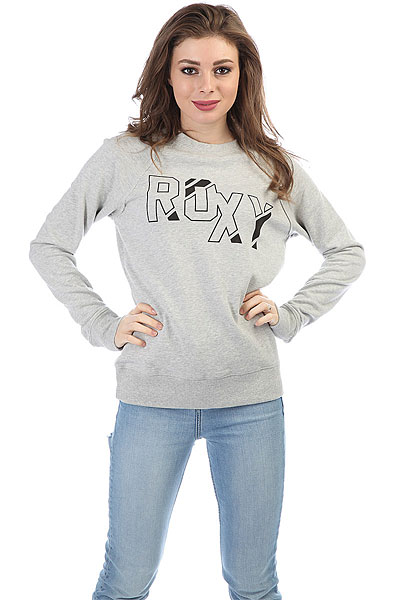 Свитшот женская Roxy Over Loop Heritage Heather<br><br>Цвет: Светло-серый<br>Тип: Свитшот<br>Возраст: Взрослый<br>Пол: Женский