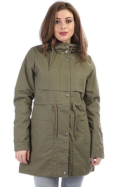 Куртка парка женская Roxy Seadance Dusty Olive куртка парка женская roxy ferley j military olive