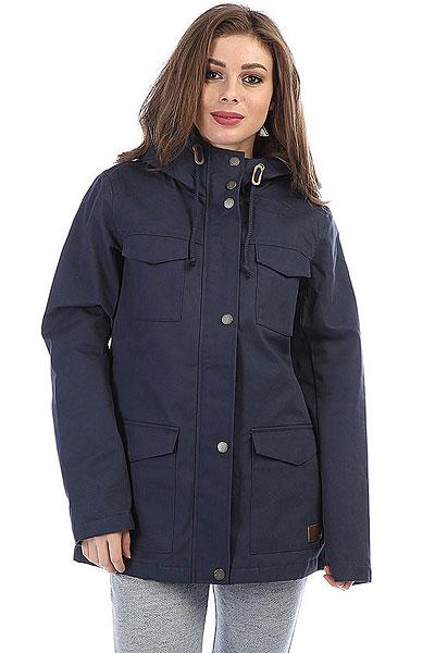 Куртка парка женская Roxy Seasongjacket Dress Blues куртка парка женская roxy ferley j military olive