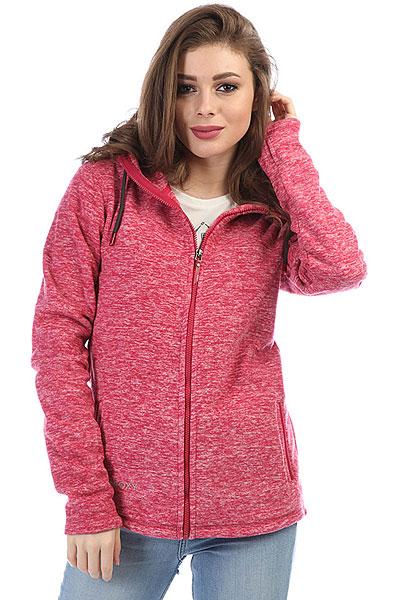 Толстовка классическая женская Roxy Su Red Bud<br><br>Цвет: розовый<br>Тип: Толстовка классическая<br>Возраст: Взрослый<br>Пол: Женский