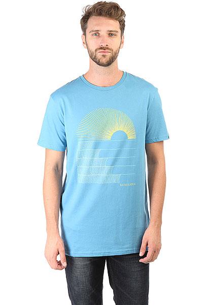 Футболка Quiksilver Sssustemorningg Tees Cendre Blue футболка quiksilver paradise tees black