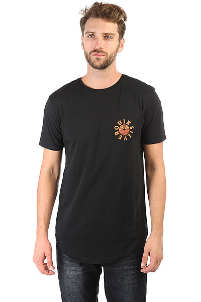 Футболка Quiksilver Sscallopterisin Black футболка quiksilver paradise tees black