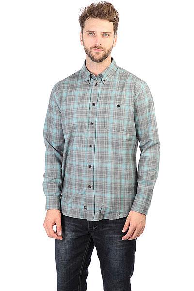 Рубашка в клетку Quiksilver Cortezstraight Cortez Straight<br><br>Цвет: голубой,серый<br>Тип: Рубашка в клетку<br>Возраст: Взрослый<br>Пол: Мужской