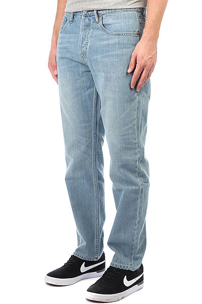 Джинсы широкие DC Worker Relaxed Indigo Bleach