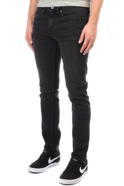 Джинсы узкие DC Worker Slim Jea Medium Grey джинсы узкие dc washed slim jea pant light stone
