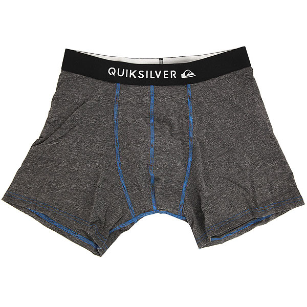 Трусы Quiksilver Boxer Edition Dark Charcoal Heather трусы детские quiksilver boxer edition black