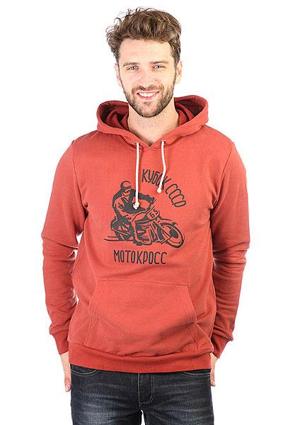Толстовка кенгуру Extra Moto Terracot<br><br>Цвет: оранжевый<br>Тип: Толстовка кенгуру<br>Возраст: Взрослый<br>Пол: Мужской