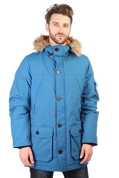 Куртка парка S.G.M. Svalbard BlueМужская куртка берлинской марки Such a Great Moment, выполненная из прочной ткани Oxford с легким, внутренним наполнителем. Лаконичный дизайн, прямой крой, застёжка на молнии с защитной планкой и эффектная контрастная подкладка.Характеристики:Капюшон с регулируемым шнуром. Два накладных кармана для рук и дополнительный карман на предплечье. Рукава с эластичными манжетами и кулиска на талии. Куртка представлена в однотонной расцветке, украшенной небольшой нашивкой с логотипом бренда.<br><br>Цвет: голубой<br>Тип: Куртка парка<br>Возраст: Взрослый<br>Пол: Мужской