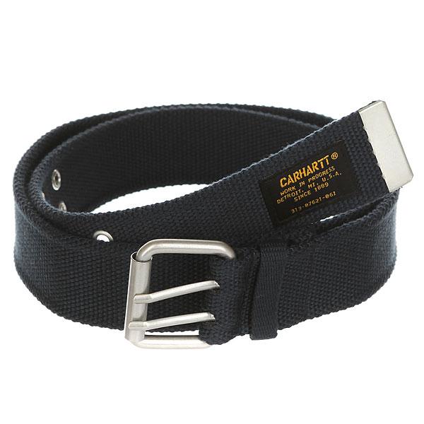 Ремень Carhartt WIP Camp Belt (6 Minimum) Navy<br><br>Цвет: синий<br>Тип: Ремень<br>Возраст: Взрослый<br>Пол: Мужской