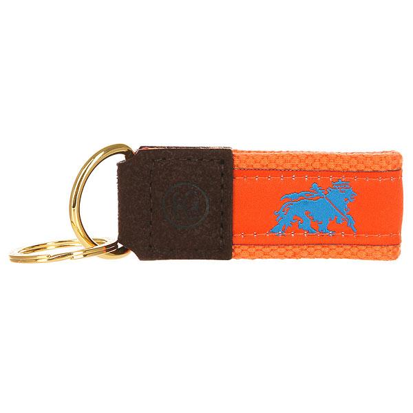 Ключница Stussy Needle Point Keychain Orange