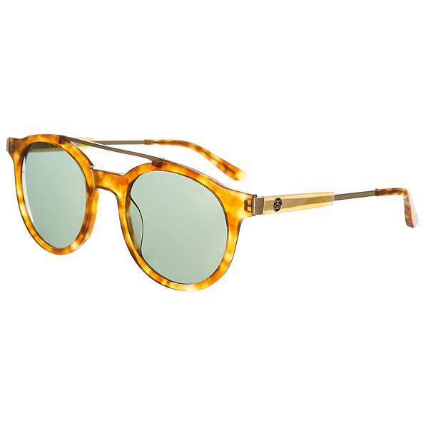 Очки Stussy Luca Sunglass Tortoise/Green<br><br>Цвет: коричневый,желтый<br>Тип: Очки<br>Возраст: Взрослый<br>Пол: Мужской