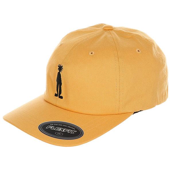 Бейсболка классическая Stussy Fitted Low Cap Gold<br><br>Цвет: Темно-желтый<br>Тип: Бейсболка классическая<br>Возраст: Взрослый