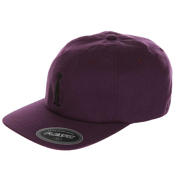 Бейсболка классическая Stussy Fitted Low Cap Purple<br><br>Цвет: фиолетовый<br>Тип: Бейсболка классическая<br>Возраст: Взрослый