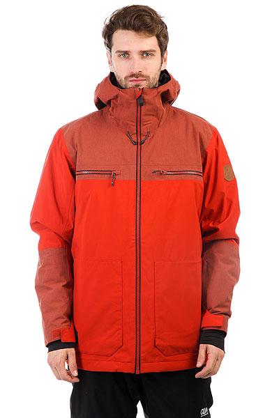 Куртка утепленная Quiksilver Arrow Wood Ketchup Red юбка arrow dan mini lolita