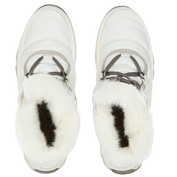 Ботинки высокие женские Sorel Whitney Short Lace Sea Salt