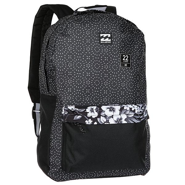 Рюкзак Billabong All Day Pack BlackРюкзак без излишеств на каждый день. Практичный, в минималистичном дизайне с мягкими ремнями для комфорта.Технические характеристики: Основное отделение на молнии.Внешний карман на молнии.Мягкие лямки для комфорта.Нашивка с логотипом.<br><br>Цвет: черный<br>Тип: Рюкзак<br>Возраст: Взрослый