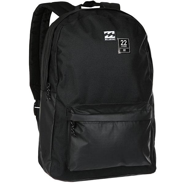 Рюкзак Billabong All Day Pack StealthРюкзак без излишеств на каждый день. Практичный, в минималистичном дизайне с мягкими ремнями для комфорта.Технические характеристики: Основное отделение на молнии.Внешний карман на молнии.Мягкие лямки для комфорта.Нашивка с логотипом.<br><br>Цвет: черный<br>Тип: Рюкзак<br>Возраст: Взрослый