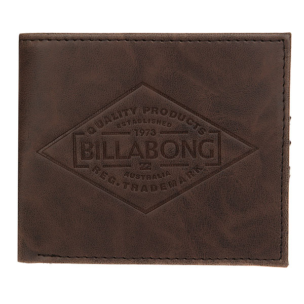 Кошелек Billabong Bronson Chocolate<br><br>Цвет: Темно-коричневый<br>Тип: Кошелек<br>Возраст: Взрослый