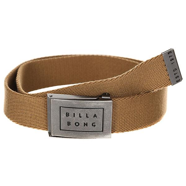 Ремень Billabong Sergeant Belt Gum<br><br>Цвет: бежевый<br>Тип: Ремень<br>Возраст: Взрослый<br>Пол: Мужской