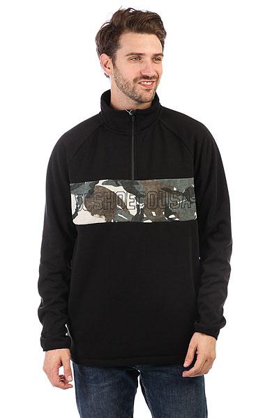 Толстовка сноубордическая DC Banner Black<br><br>Цвет: черный<br>Тип: Толстовка сноубордическая<br>Возраст: Взрослый<br>Пол: Мужской