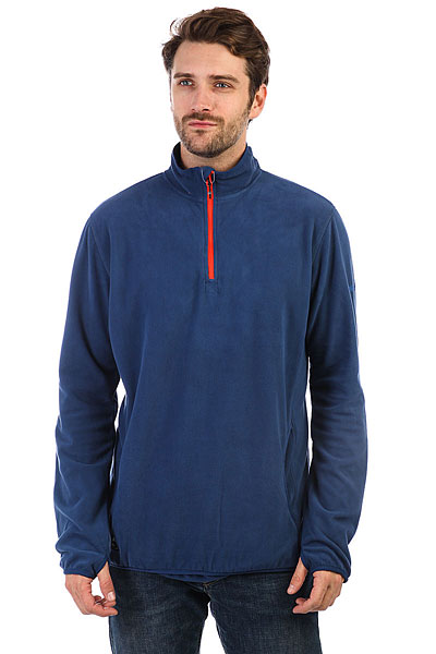 Толстовка сноубордическая Quiksilver Aker Hz Fleece Estate Blue quiksilver qu192bmvnw64