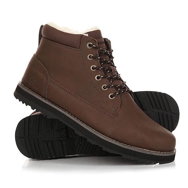 Ботинки зимние Quiksilver Mission Boot Brown