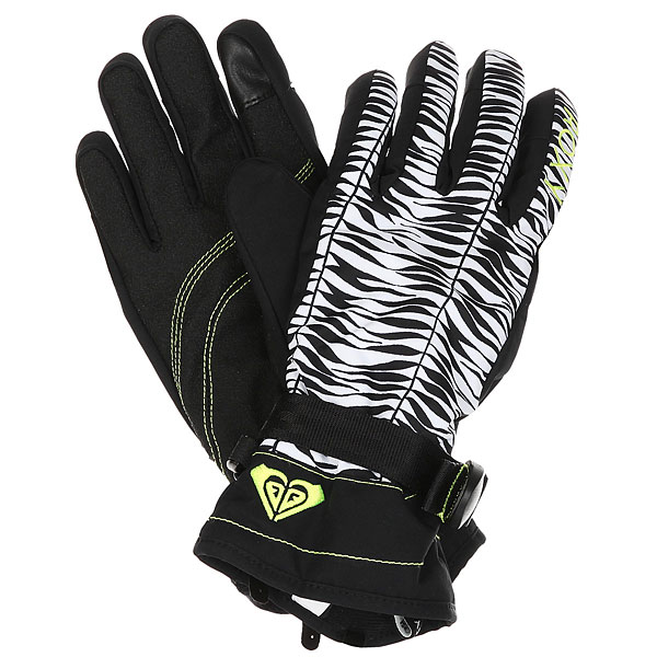 Перчатки женские Roxy Rx Jetty Gloves True Black Savanna цена