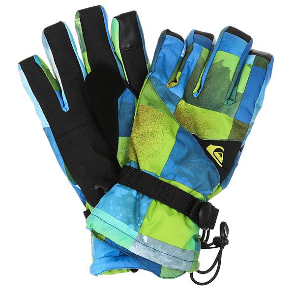 Купить со скидкой Перчатки Quiksilver Mission Glove Blue Sulphur
