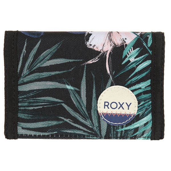 Кошелек женский Roxy Small Beach Anthracite Swim сумка дорожная roxy in the clouds anthracite swim belh