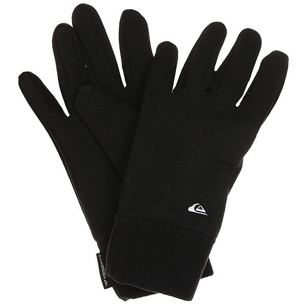 Перчатки Quiksilver Hottawa BlackЛегкие перчатки Hottawa, которые можно носить как самостоятельно, так и в качестве второго слоя для дополнительного тепла.Технические характеристики: Легкая ткань.Манжеты.Вышитый логотип.<br><br>Цвет: черный<br>Тип: Перчатки<br>Возраст: Взрослый<br>Пол: Мужской