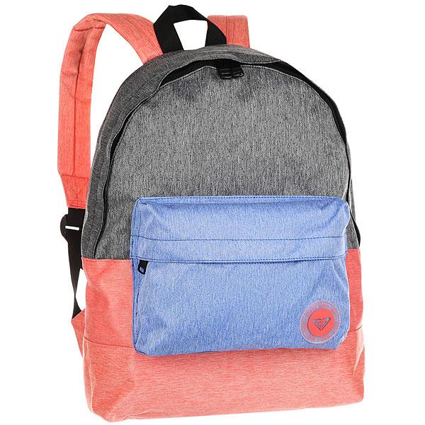 Рюкзак городской женский Roxy Sugar Baby Colo Spiced CoralКомпактный женский рюкзак Sugar Baby из новой коллекции ROXY.Технические характеристики: Яркий дизайн.Одно основное отделение на молнии.Передний карман для аксессуаров.Мягкие лямки и ручка для переноски.Нашивка с логотипом.<br><br>Цвет: мультиколор<br>Тип: Рюкзак городской<br>Возраст: Взрослый<br>Пол: Женский